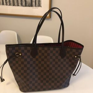 Sexy Louis Vuitton Neverfull MM Damier